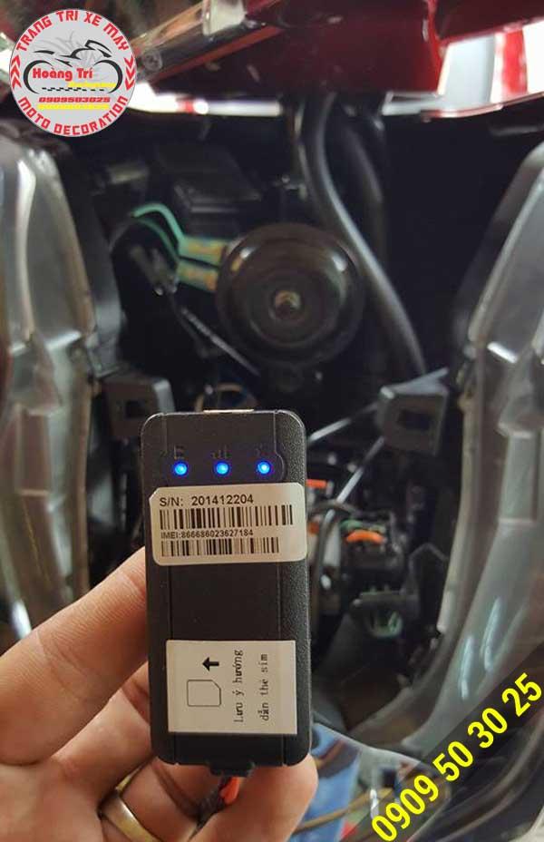 Hộp điều khiển của định vị J611
