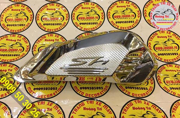 Pô e mạ crom - món đồ chơi xe SH 2017 mới tại Hoàng Trí Racing Shop