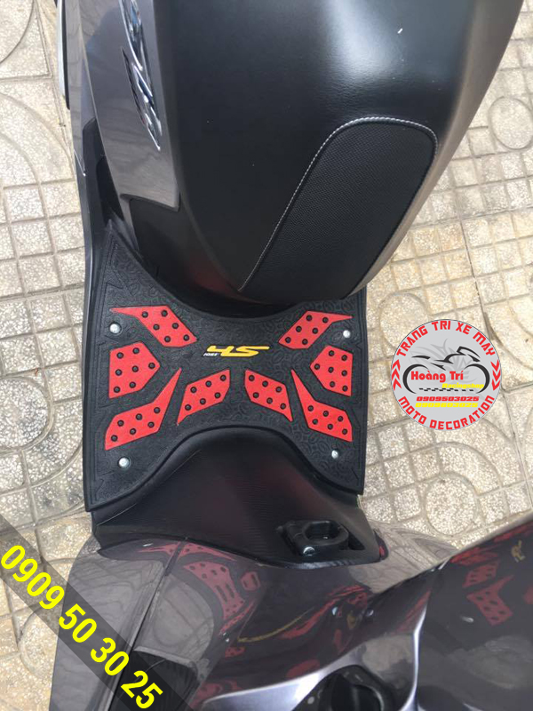 Thảm lót chân SH 2017 đen - đỏ