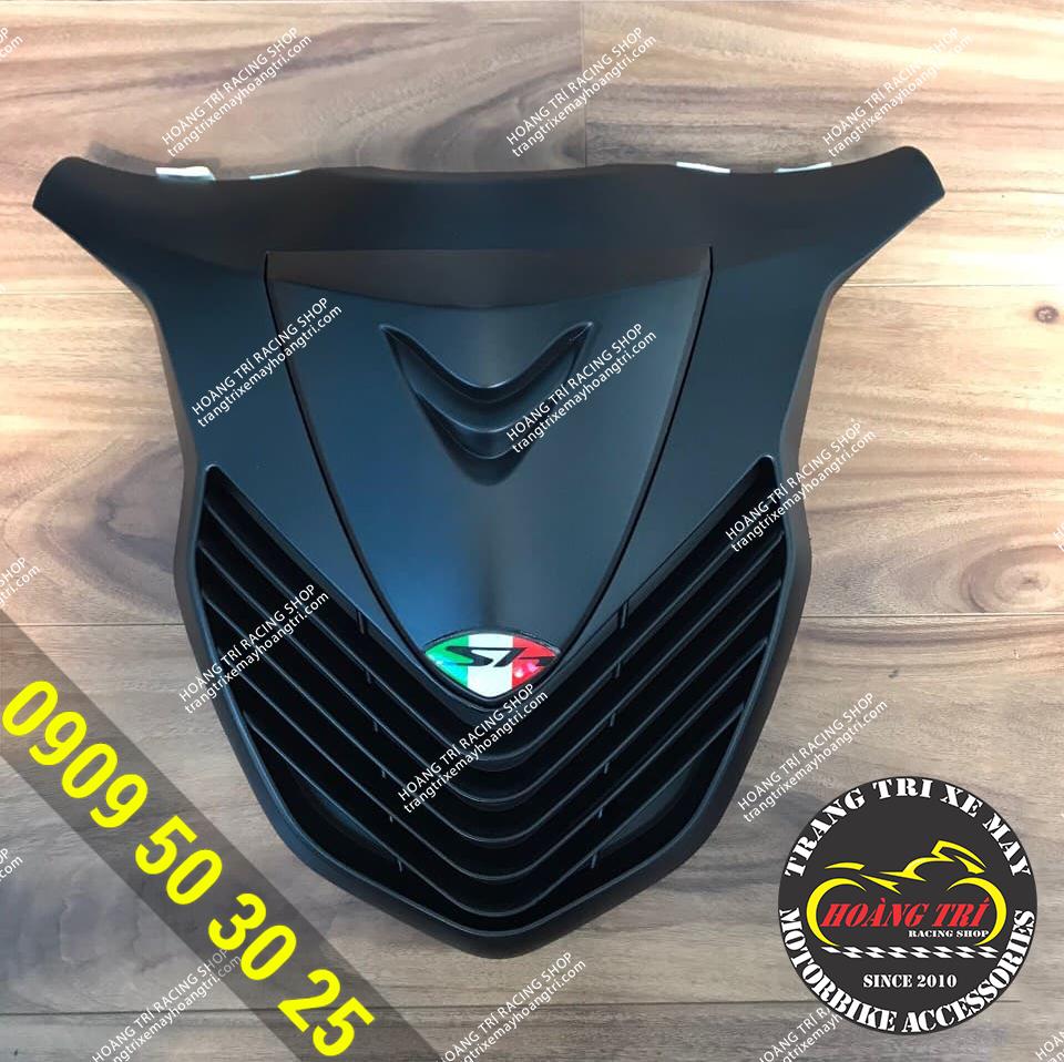 Mặt nạ Sh 2020 kiểu Sh Ý mẫu MTA màu đen nhám