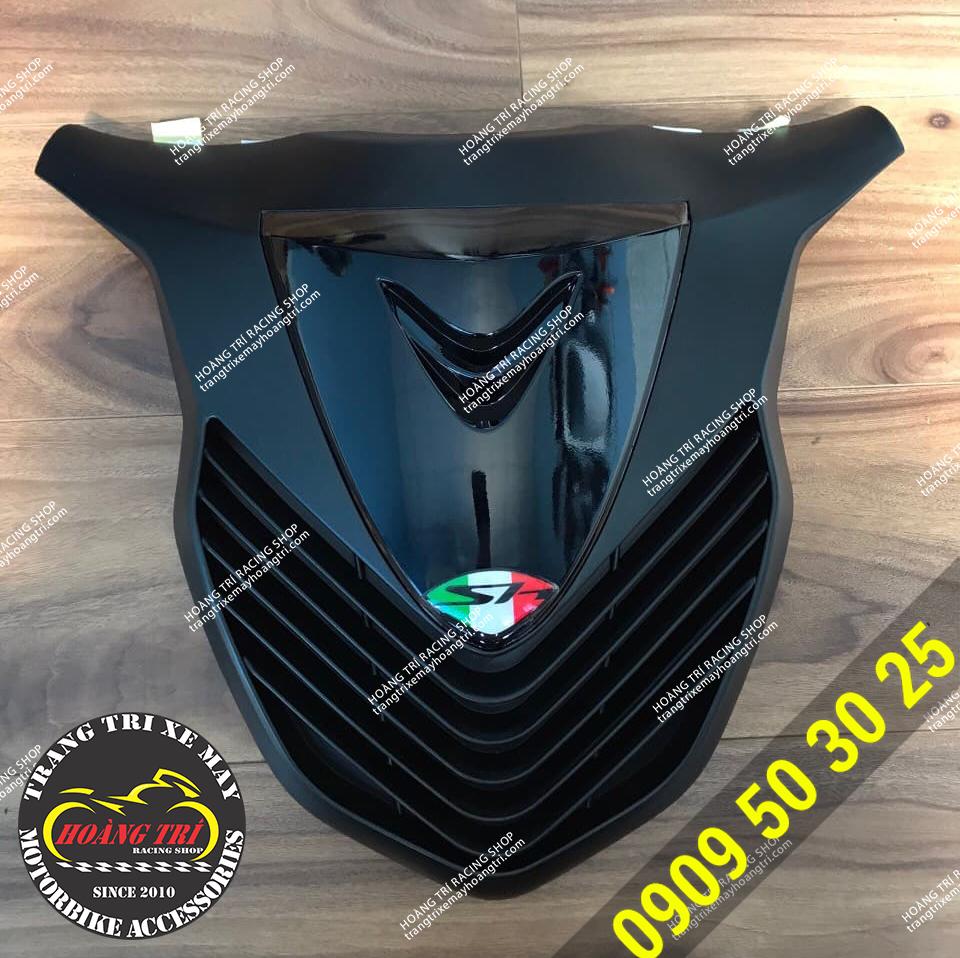 Mặt nạ Sh 2020 kiểu Sh Ý mẫu MTA màu đen bóng