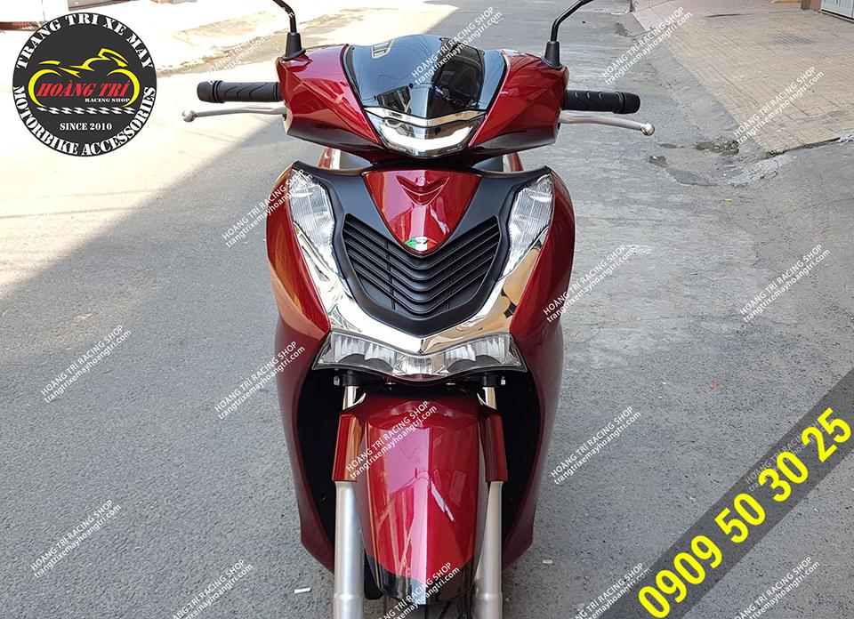 SH 2020 màu đỏ lắp mặt nạ Sh Ý mài đỏ