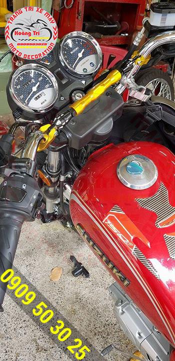 Ghi đông trần PCX gắn cho Suzuki GN-125