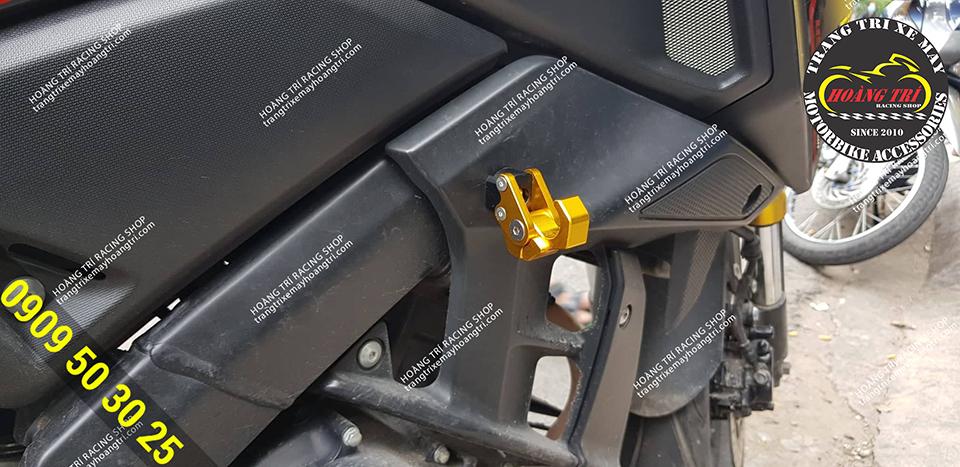 Sản phẩm đã được lắp đặt trên xe Yamaha TFX