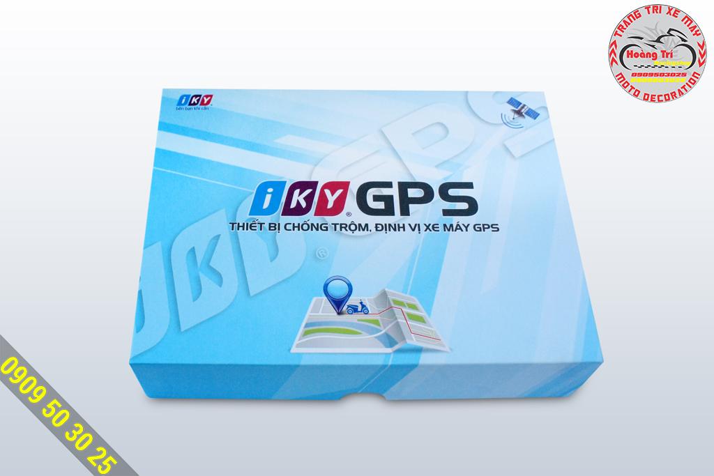 Khóa chống trộm định vị Iky GPS - full box