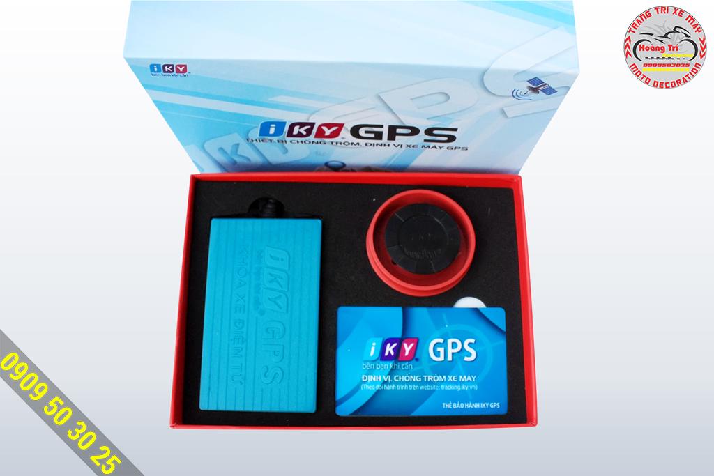 Trong họp các thiết bị của Iky GPS