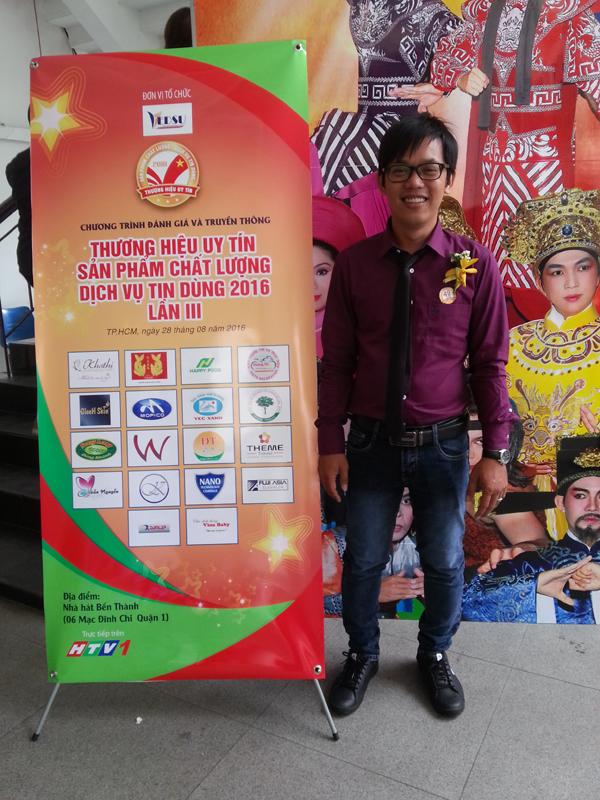 Hoàng Trí đạt TOP 100 thương hiệu uy tín năm 2016 6