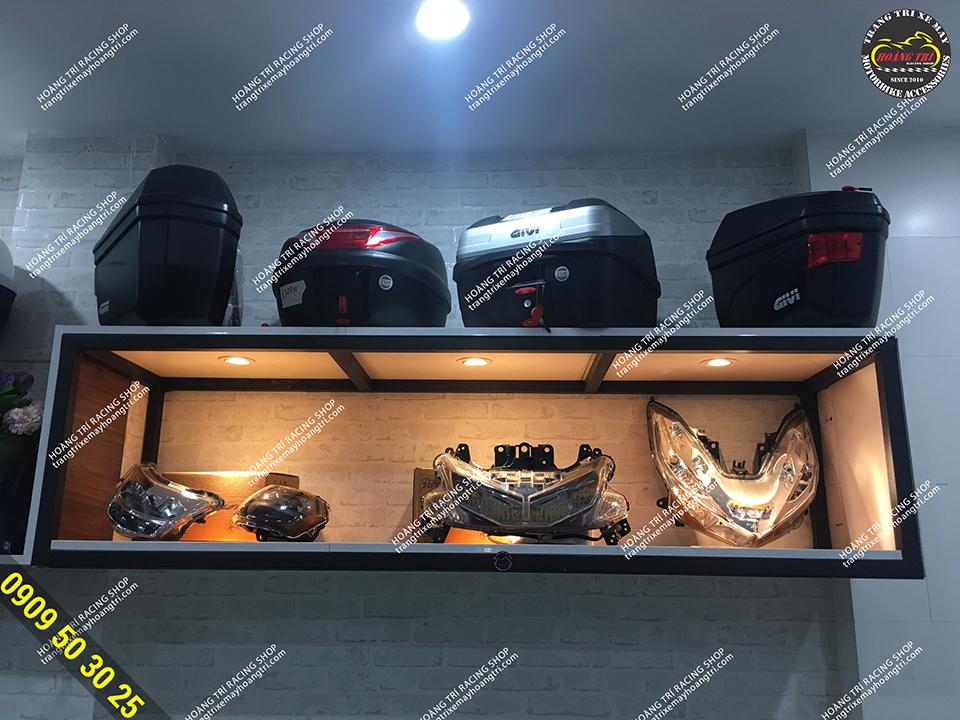 Hoàng Trí Racing Shop tự hào đại lý chính thức Givi
