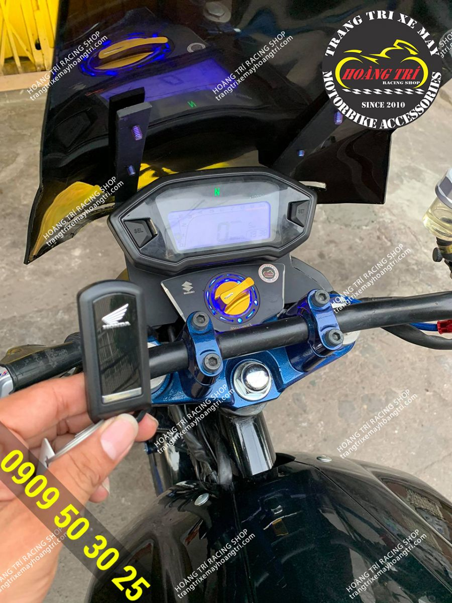 Remote khóa thông minh chính hãng với logo Honda