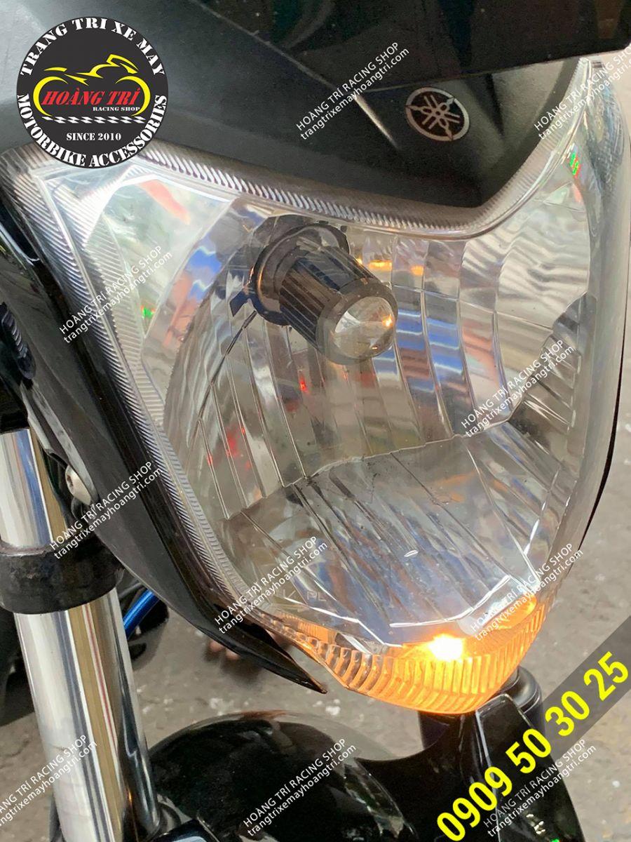 Đèn bi LED mini được thay thế với chân H4