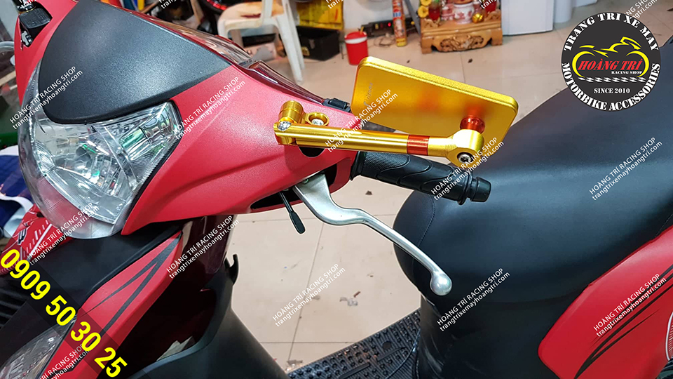 Xe Vision đã lột xác hoàn hảo tại Hoàng Trí Racing Shop