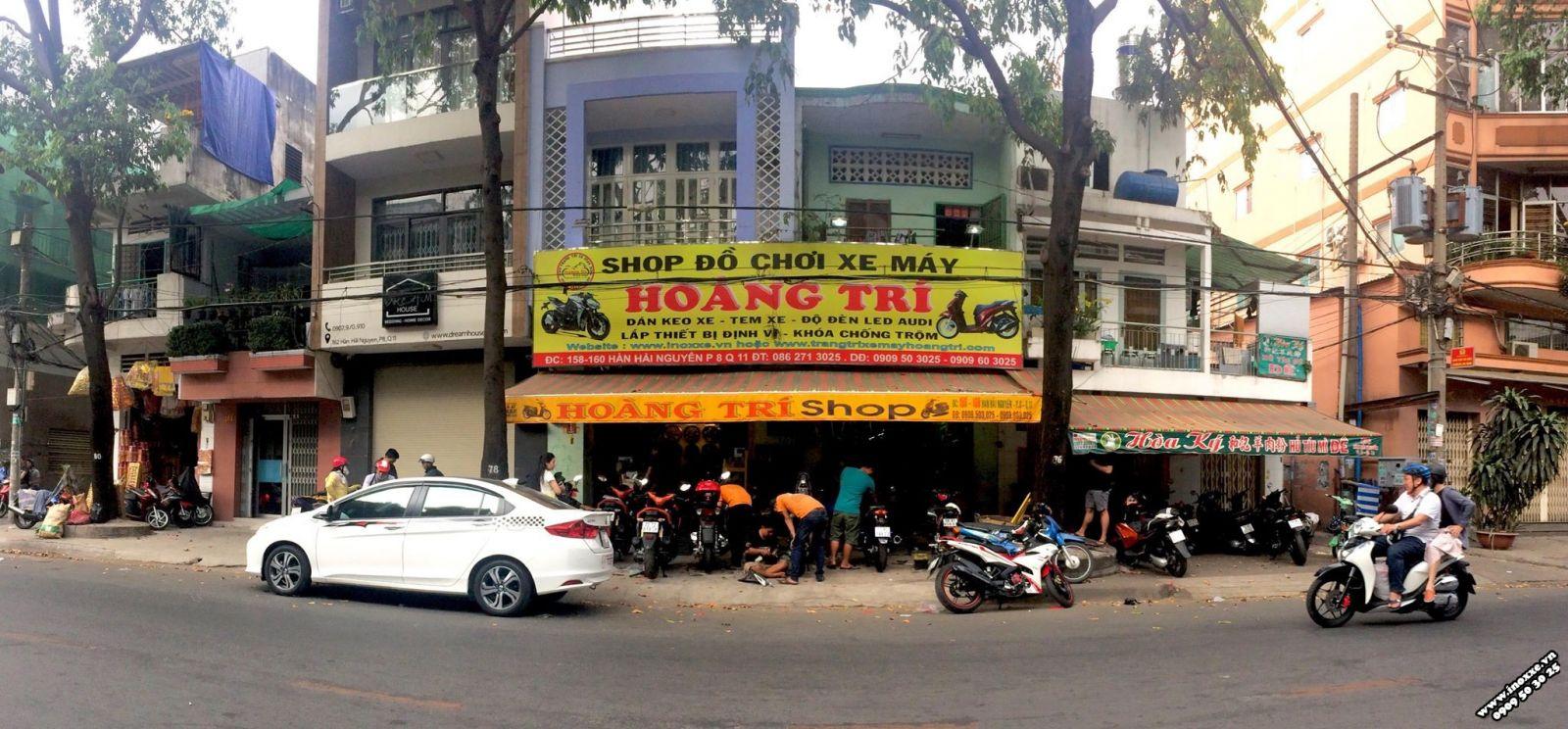 Năm 2018 - Hoàng Trí Racing Shop với 3 cửa hàng và 2 chi nhánh