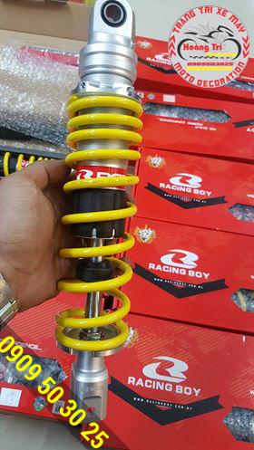 Trên tay phuộc Racing Boy không có bình dầu chính hãng