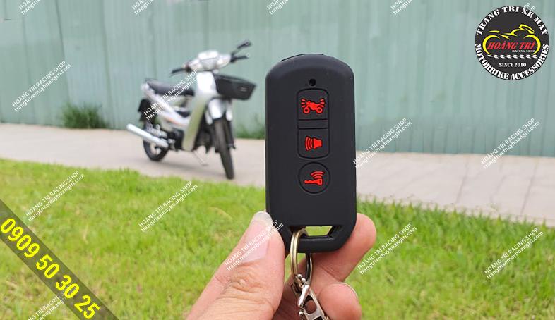 Chạy xe không cần chìa khóa, chống quên chìa