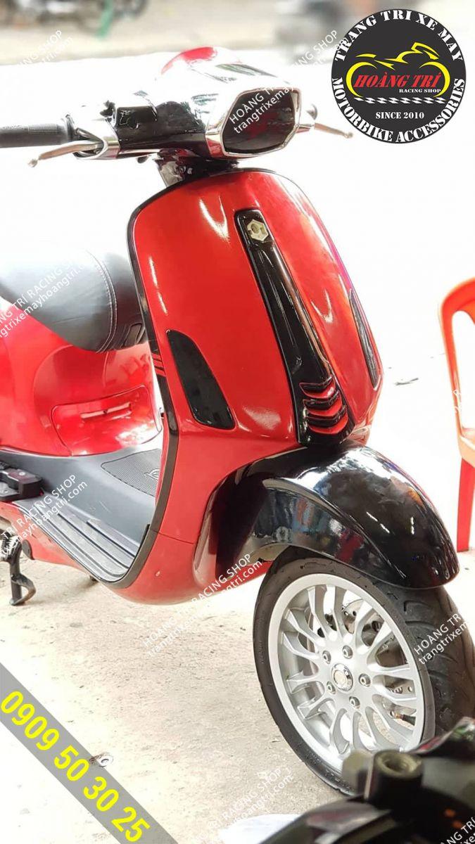 Chất lừ với màu sắc mới của xe Vespa Sprint