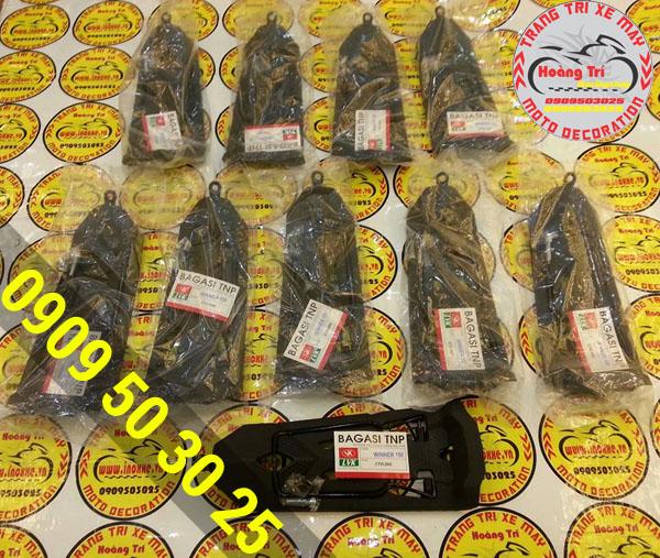 Baga nhựa đen tông sẹc tông với winner 150