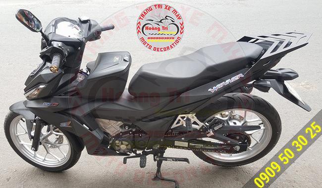 Baga sau Indo GTR150 FAKE trên Winner 150 đen