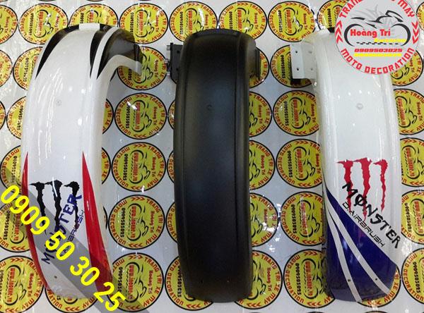 Chắn bùn nguyên khối sơn airbrush đồ chơi xe winner 150