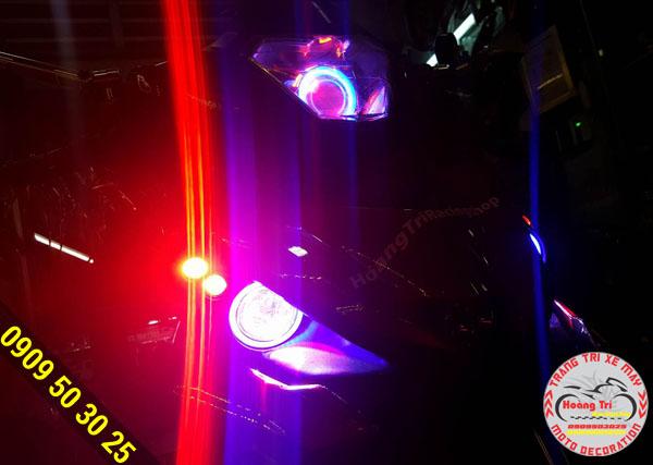 Tùy vào màu sắc của đèn thể hiện các khía cạnh tính cách khác nhau