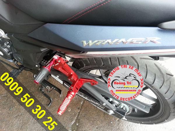 Chống ngã đổ xe máy Biker - bên Trái