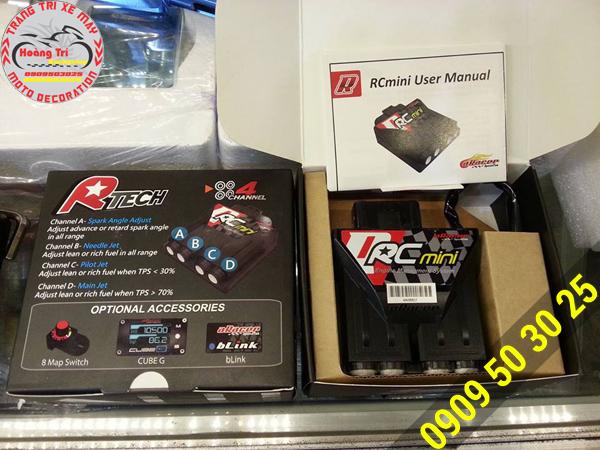 Full box ECU (IC) aRacer - giúp xế bạn phóng nhanh, êm ái
