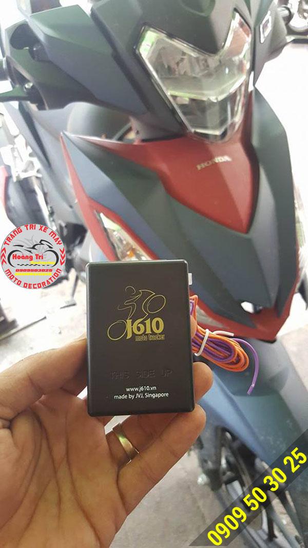 Trên tay thiết bị định vị J610