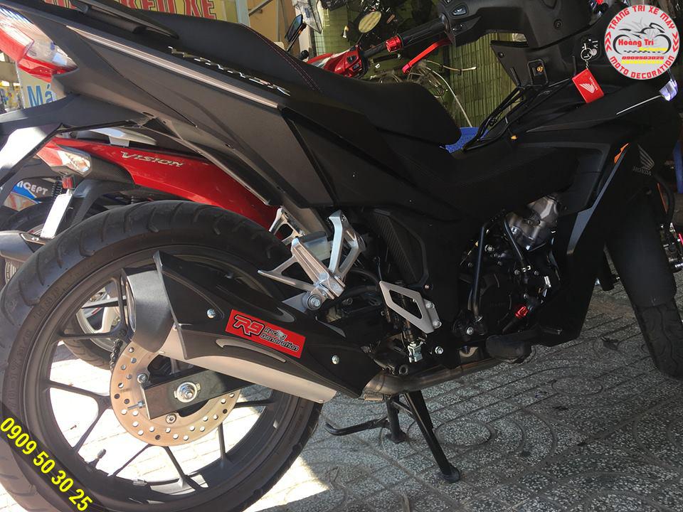 Độ pô R9 thể hiện cá tính mạnh mẽ - đậm chất Biker