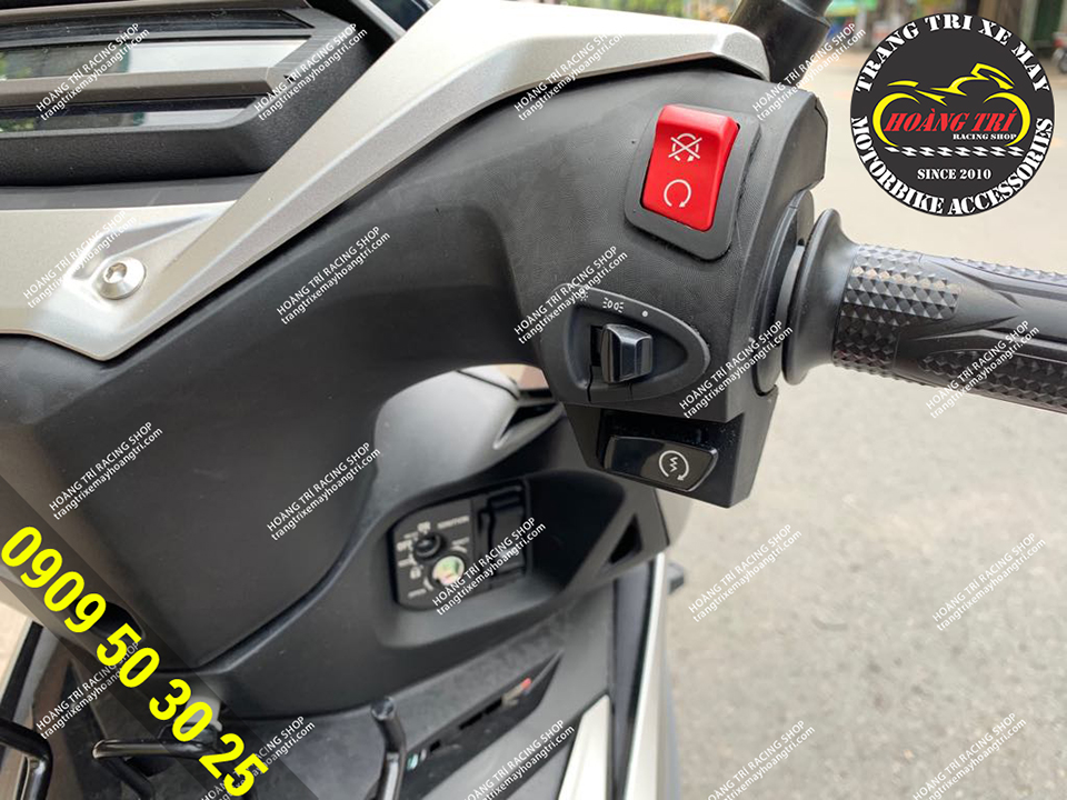Add a Winner X to install the switch to turn off and open the headlights of Winner X