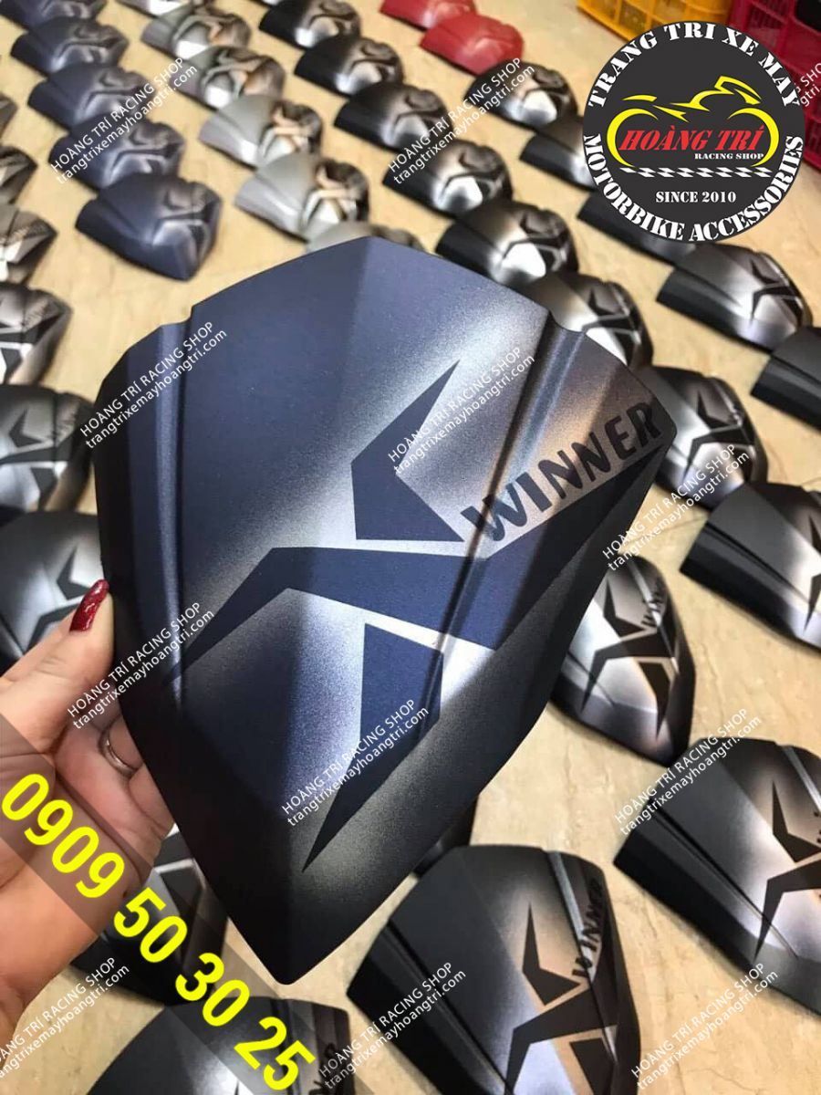 Winner X hand-painted airbrush painted black airbrush