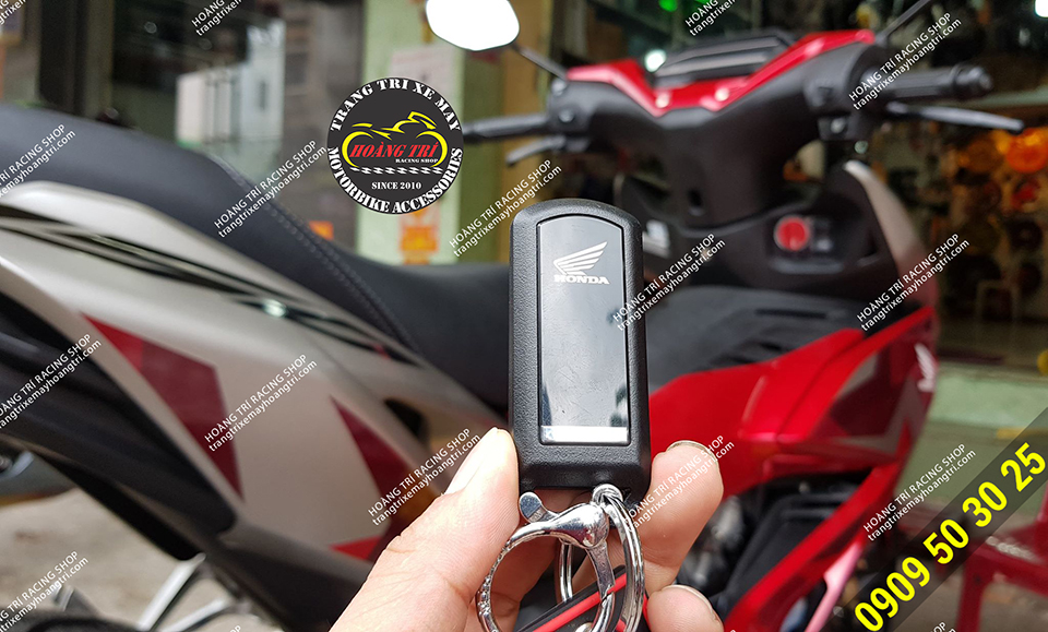 Remote hand full 3 functions of smart lock Winner X